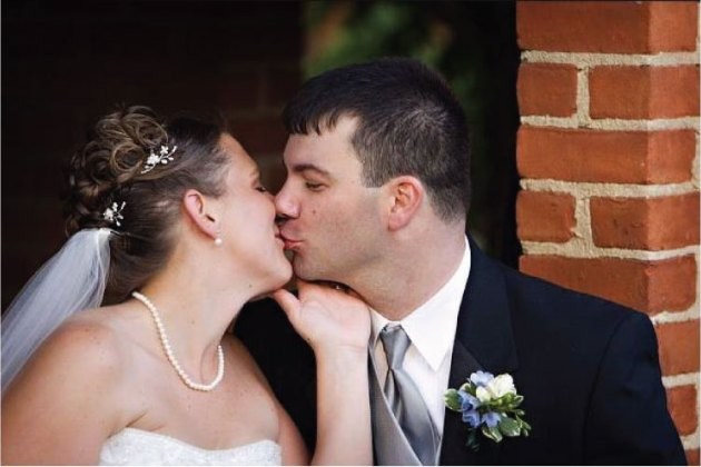 Blueberry Wedding Kiss