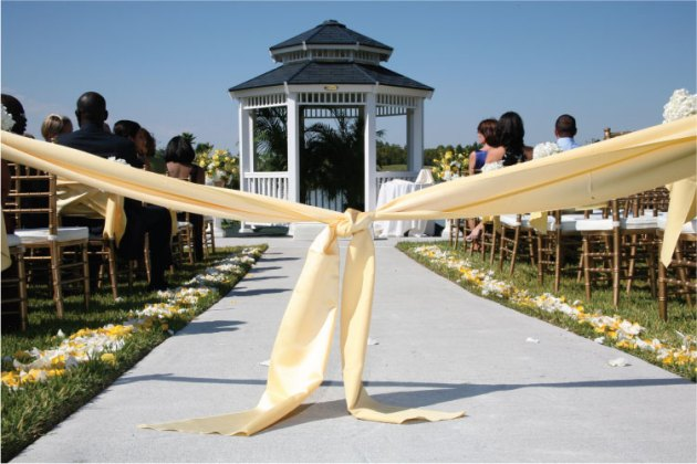 Buttercream Yellow Aisle Ribbon