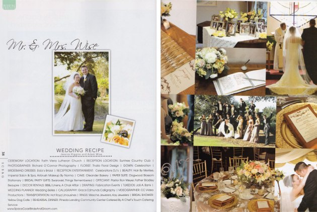 Space Coast Bride & Groom Magazine