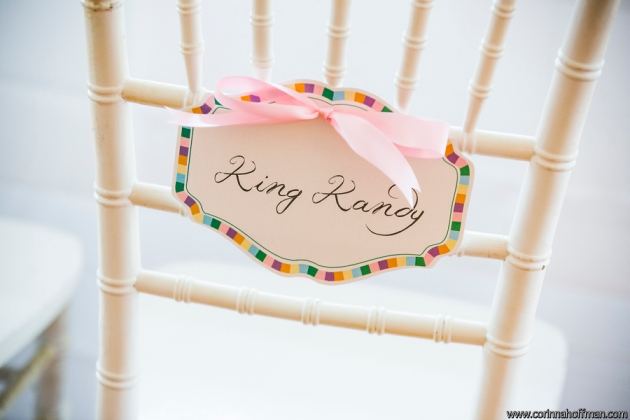 Candy land themed wedding