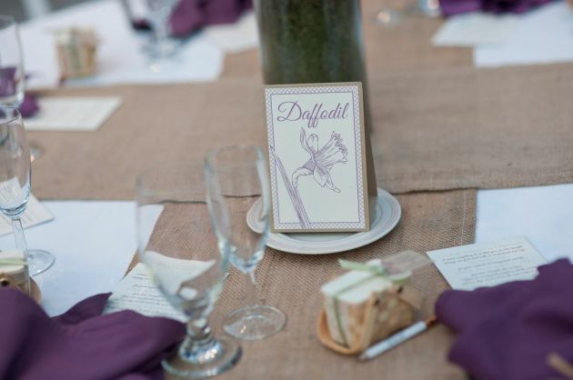 Matt Wood Photography, Tower Hill Botanic Garden, Dogwood Blossom Stationary, Table Number Card
