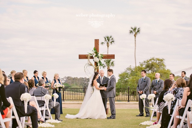 Weber Photography, TPC Sawgrass, Dogwood Blossom Stationery, custom ceremony paper goods