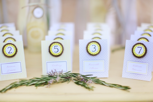 Dogwood Blossom Stationery, Wings of Glory Photography, Lemonade wedding, table place cards