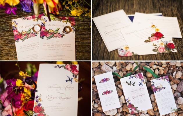 ClairePacelliPhoto_CountryClubofOrlando_DBS_wedding invites collage
