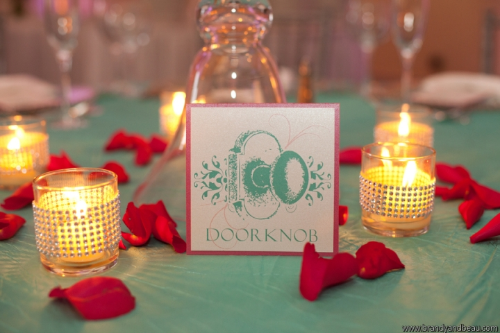 Brandy and Beau Photography, Rosen Shingle Creek, FL Southern College, Dogwood Blossom Stationery, Table Number