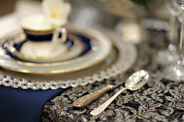 Ornate Details for Anna Karenina Wedding Shoot