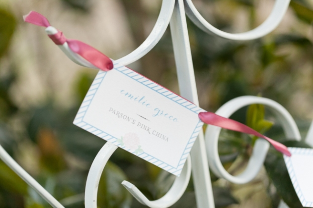 Bumby Photography, Harmony Gardens, Dogwood Blossom Stationery, Escort Card Design