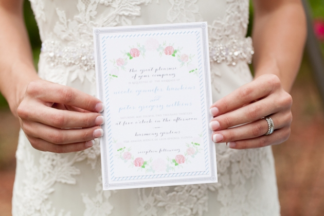 Bumby Photography, Harmony Gardens, Dogwood Blossom Stationery, Invitation