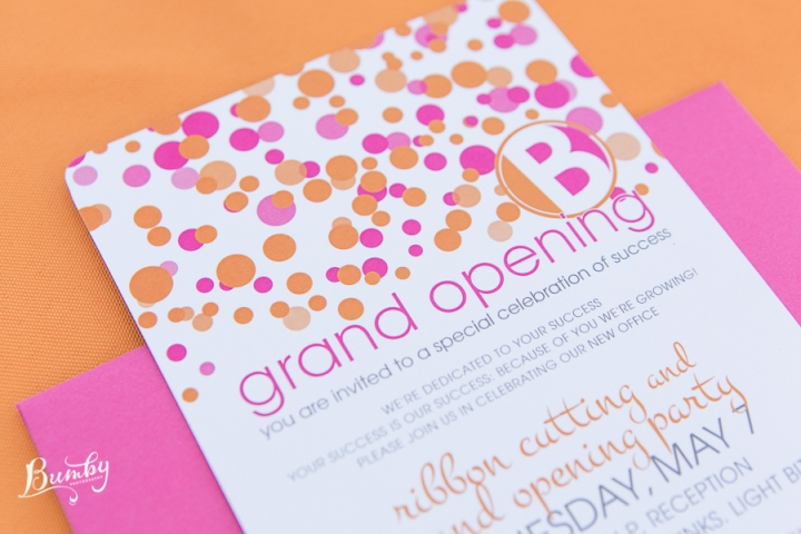 Event Industry Marketing by Beat Creative, Bumby Photography, Dogwood Blossom Stationery