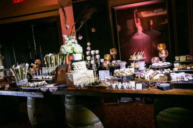 grand-bohemian-hotel-dogwood-blossom-stationery-dessert-buffet