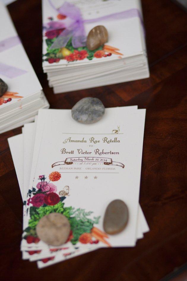 Sarah Bray Photography, Anna Christine Events, Dogwood Blossom Stationery, ceremony programs