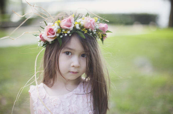 Sarah Bray Photography, Anna Christine Events, Dogwood Blossom Stationery, flower girl