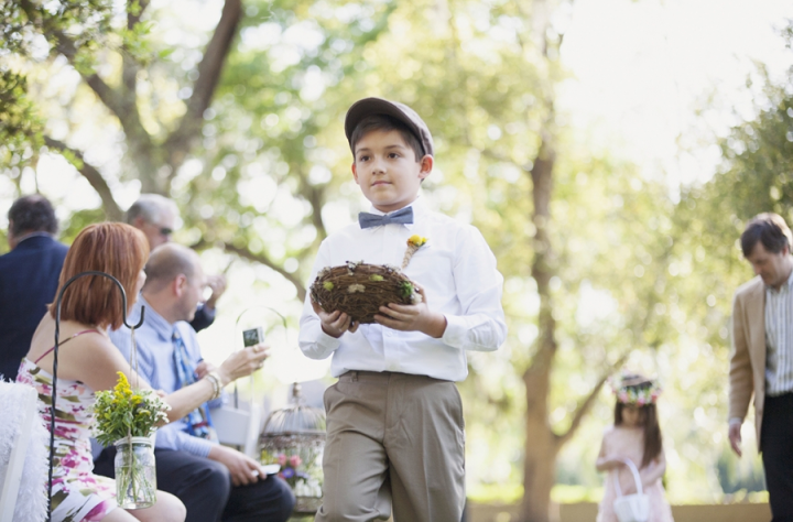 Sarah Bray Photography, Anna Christine Events, Dogwood Blossom Stationery, ring bearer