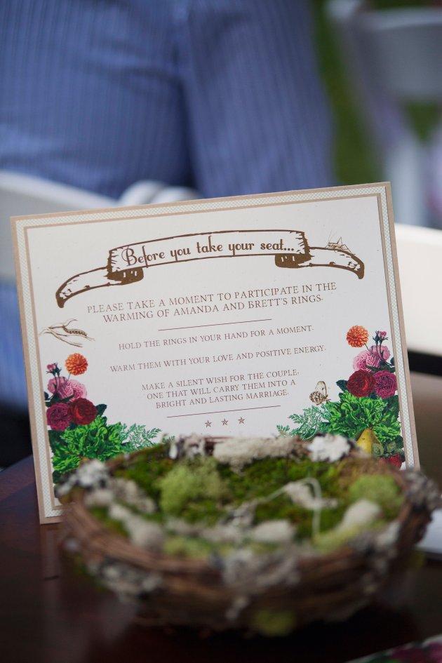 Sarah Bray Photography, Anna Christine Events, Dogwood Blossom Stationery custom sign