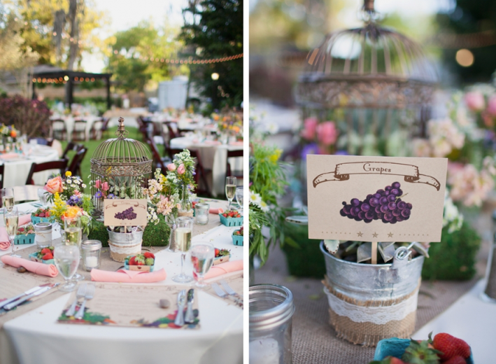 Sarah Bray Photography, Anna Christine Events, Dogwood Blossom Stationery, table name signs