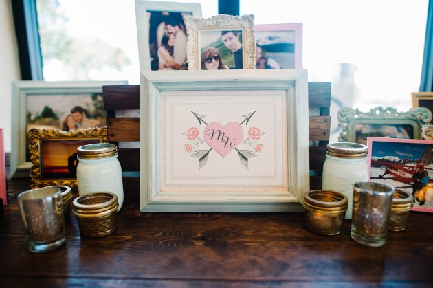 Best Photography, RW Events, Bella Collina, Dogwood Blossom Stationery, Photo Table