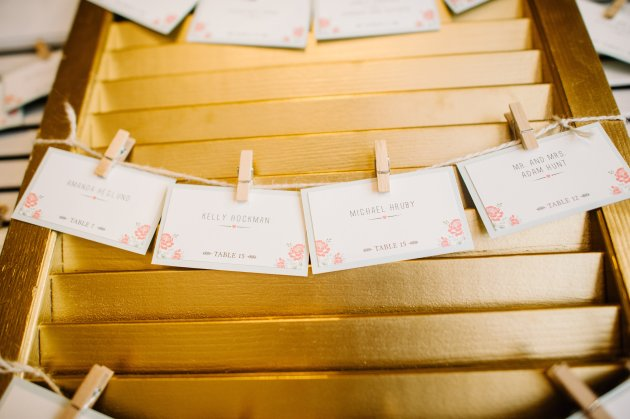 Best Photography, RW Events, Dogwood Blossom Stationery, escort cards
