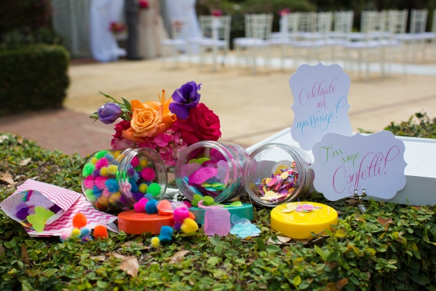 Rachel V Photography, Florida Federation of Garden Clubs, Dogwood Blossom Stationery, confetti bar