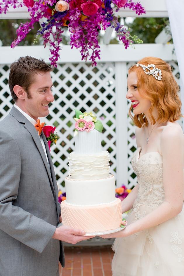 Rachel V Photography, Florida Federation of Garden Clubs, Dogwood Blossom Stationery, cake