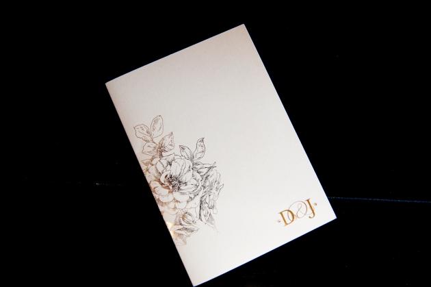 Scott Craig Photography, Dogwood Blossom Stationery, Orlando weddings, wedding invitation exterior