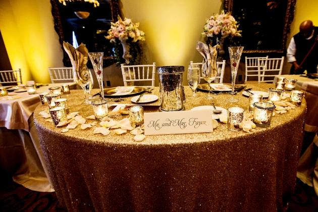 Scott Craig Photography, Dogwood Blossom Stationery, Orlando weddings, sweetheart table