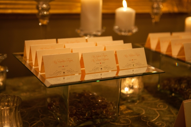 Scott Craig Photography, Dogwood Blossom Stationery, Orlando weddings, escort cards