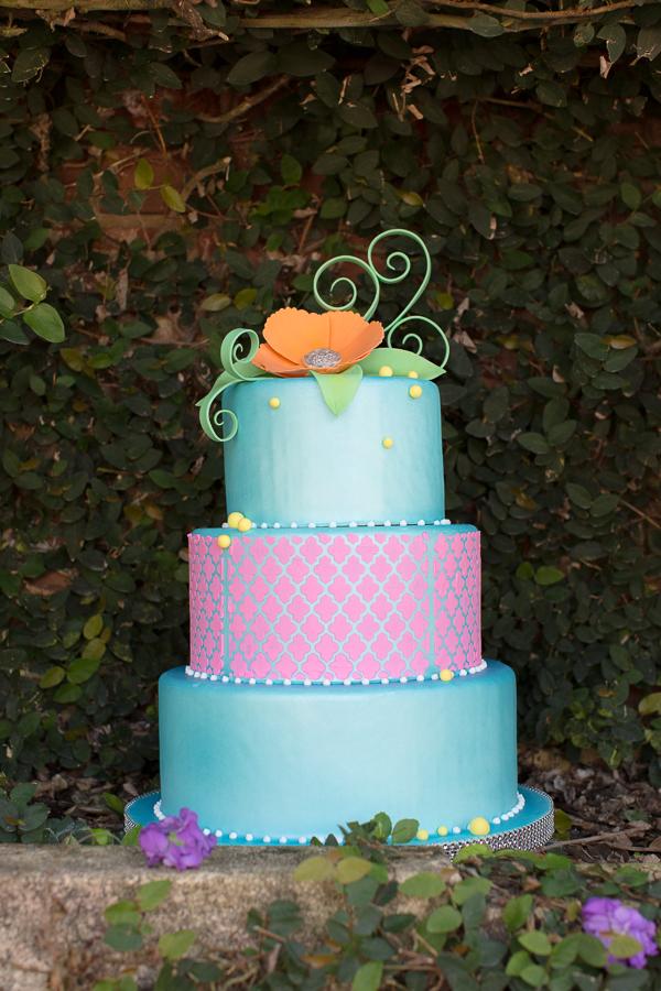 Rachel V Photography, Florida Federation of Garden Clubs, Dogwood Blossom Stationery, fondant cake