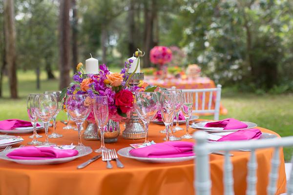 Rachel V Photography, Florida Federation of Garden Clubs, Dogwood Blossom Stationery, place setting