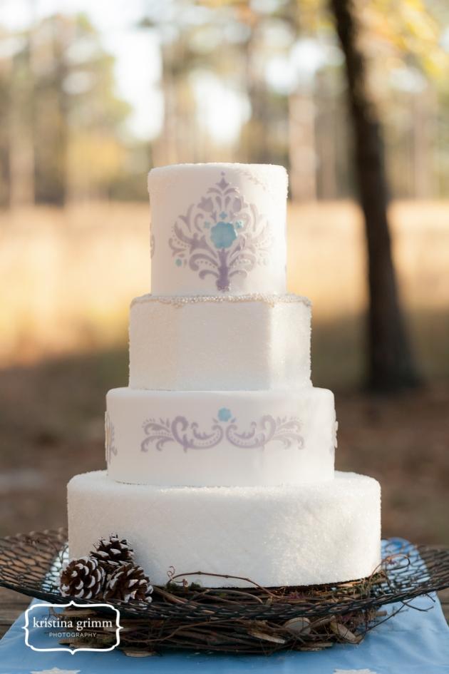 Bumby Photography, Dogwood Blossom Stationery, Wekiwa State Park, cake