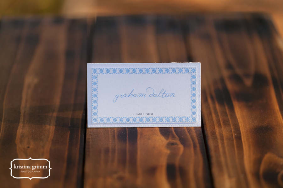 Bumby Photography, Dogwood Blossom Stationery, Wekiwa State Park, escort card