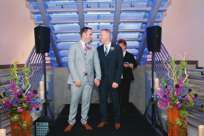 Lauren Watai Photography, Dogwood Blossom Stationery, Orlando weddings, Chris and Josh married