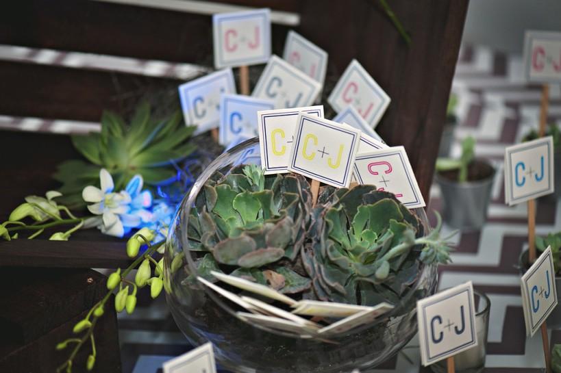 Lauren Watai Photography, Dogwood Blossom Stationery, Orlando weddings, favor tags 2