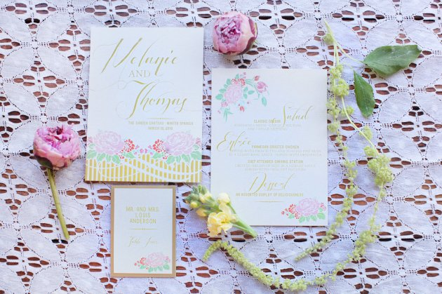 Wings of Glory Photography, Dogwood Blossom Stationery, Orlando Weddings, stationery