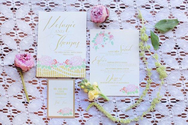 Wings of Glory Photography, Dogwood Blossom Stationery, Orlando Weddings, stationery
