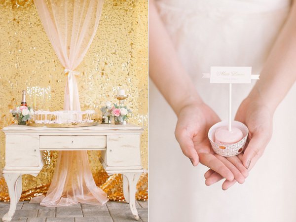 Kati Rosado Photography, Dogwood Blossom Stationery, Orlando Weddings, escort card display