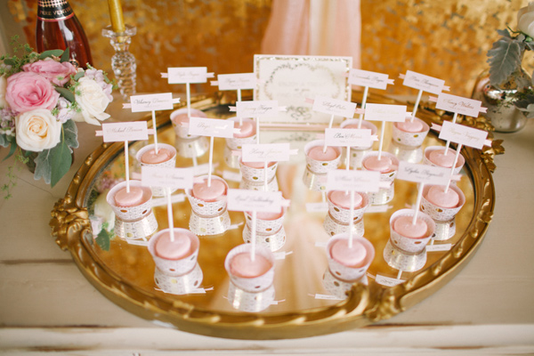 Kati Rosado Photography, Dogwood Blossom Stationery, Orlando Weddings, escort card favors