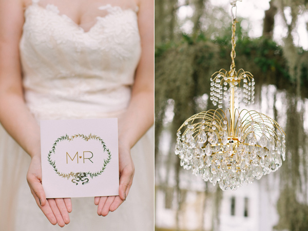 Kati Rosado Photography, Dogwood Blossom Stationery, Orlando Weddings, invitation front