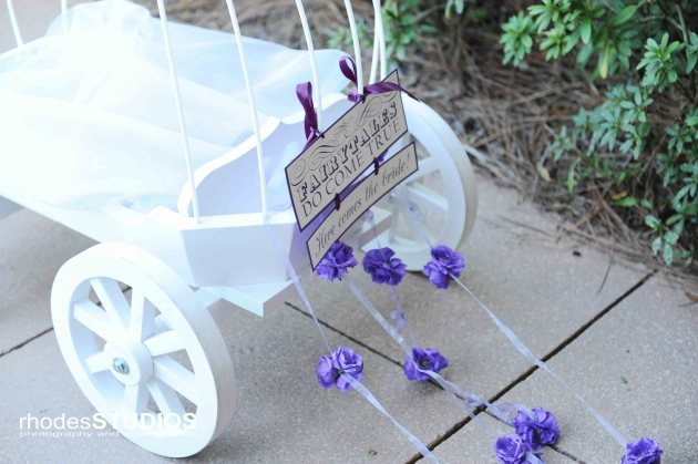 Rhodes Studios, Dogwood Blossom Stationery, Orlando weddings, carriage sign