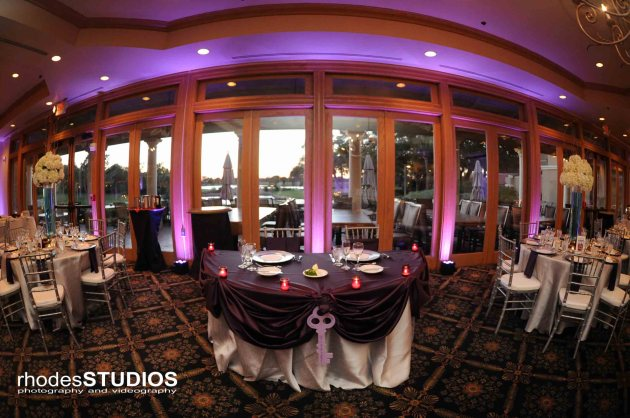 Rhodes Studios, Dogwood Blossom Stationery, Orlando weddings, sweetheart table
