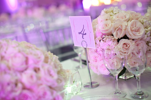 Sara Kauss Photography, Dogwood Blossom Stationery, Orlando weddings, table number card