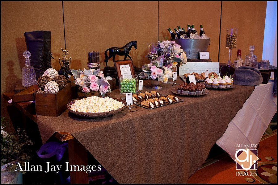 Allan Jay Images, Dogwood Blossom Stationery, Orlando weddings, dessert table