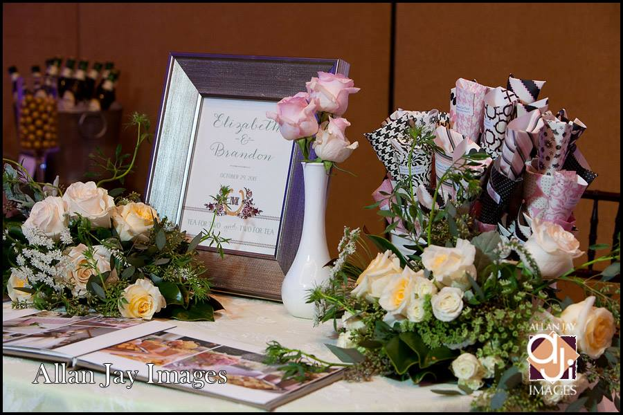 Allan Jay Images, Dogwood Blossom Stationery, Orlando weddings, flowers and sign