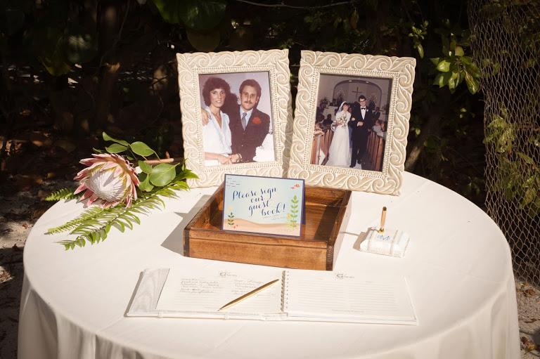 Island Photography, Dogwood Blossom Stationery, Orlando weddings, guest book