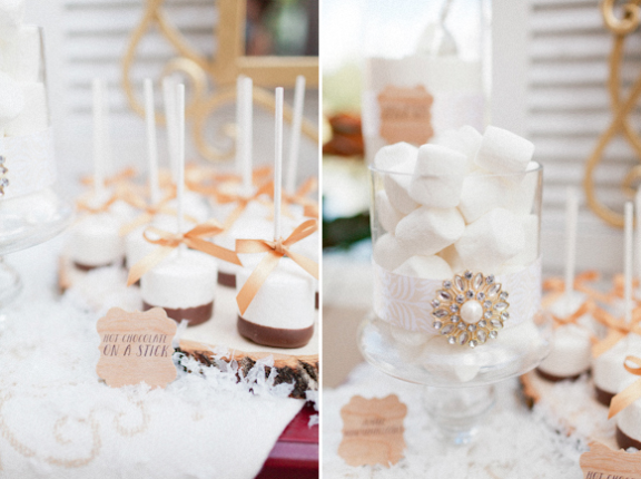 Andi Mans Photography, Dogwood Blossom Stationery, Orlando weddings, hot chocolate bar tags