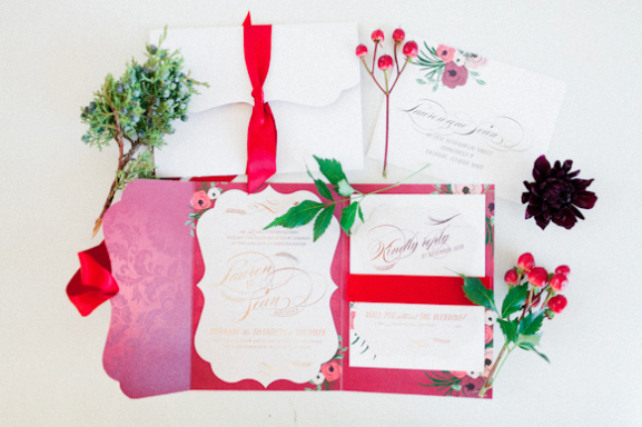 Andi Mans Photography, Dogwood Blossom Stationery, Orlando weddings, invitation