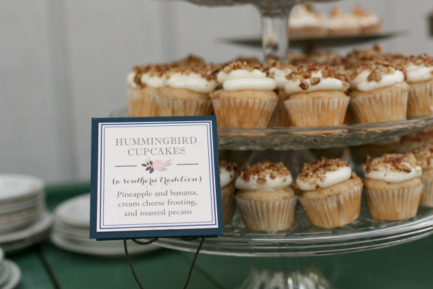 Bumby Photography, Dogwood Blossom Stationery, Orlando weddings, cupcake sign