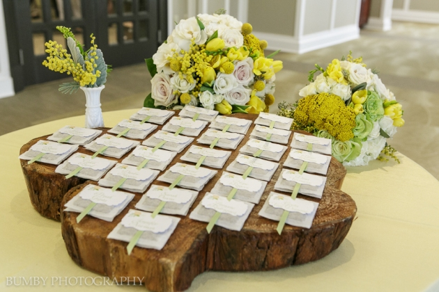 Dogwood Blossom Stationery, Bumby Photography, Ocoee Lakeshore Center, Place Cards and Florals