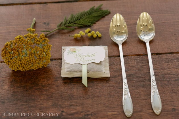 Dogwood Blossom Stationery, Bumby Photography, Ocoee Lakeshore Center, Place Cards and Iced Tea Spoons