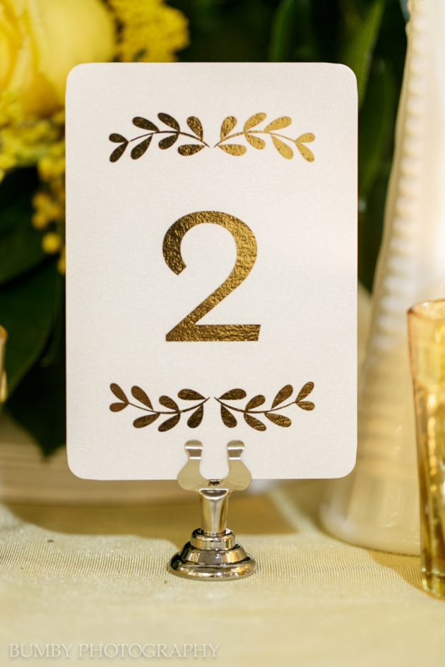 Dogwood Blossom Stationery, Bumby Photography, Ocoee Lakeshore Center, Table Numbers