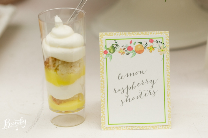 Bumby Photography, Peachtree House, Dogwood Blossom Stationery, Orlando weddings, dessert buffet tag, yellow wedding